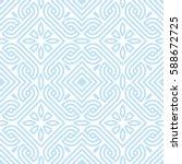 geometric squares seamless... | Shutterstock .eps vector #588672725