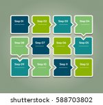vector progress background.... | Shutterstock .eps vector #588703802