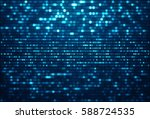abstract data background with... | Shutterstock . vector #588724535