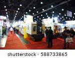 blur event technology fair with ... | Shutterstock . vector #588733865