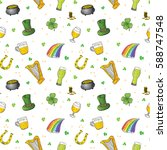 St Patrick\'s Day Hand Drawn...