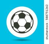 soccer ball icon. soccer ball...