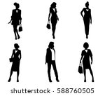 vector illustration of six... | Shutterstock .eps vector #588760505