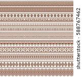 vector set of floral elements.... | Shutterstock .eps vector #588767462