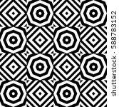 vector seamless checkerboard... | Shutterstock .eps vector #588783152