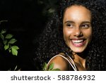 outdoors portrait of a young...   Shutterstock . vector #588786932