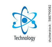 vector logo technology | Shutterstock .eps vector #588790082
