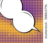 abstract creative concept... | Shutterstock .eps vector #588814796