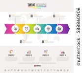 timeline infographics design... | Shutterstock .eps vector #588860906