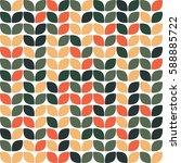geometric seamless pattern... | Shutterstock .eps vector #588885722
