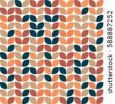 geometric seamless pattern... | Shutterstock .eps vector #588887252