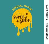 sale blob vintage color... | Shutterstock .eps vector #588891296