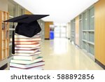 very blurry hall way as... | Shutterstock . vector #588892856