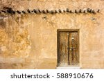 Traditional Arabic House Door