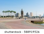 jeddah  saudi arabia  january ... | Shutterstock . vector #588919526
