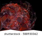 abstract multicolor mosaic... | Shutterstock .eps vector #588930362