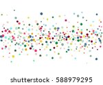 abstract colorful flying in the ... | Shutterstock .eps vector #588979295