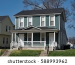 blue duplex housing | Shutterstock . vector #588993962