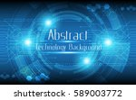 abstract technology background... | Shutterstock .eps vector #589003772