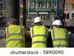 lunchtime construction | Shutterstock . vector #5890090