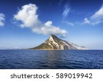 island. tavolara  sardinia | Shutterstock . vector #589019942