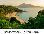 landscape from phuket view... | Shutterstock . vector #589032002