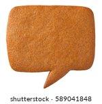 Gingerbread Speech Bubble...