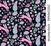 original  bright  trendy... | Shutterstock . vector #589042202