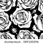 seamless pattern with image... | Shutterstock .eps vector #589100396