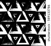 seamless vector pattern of... | Shutterstock .eps vector #589133786