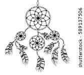 "detailed dreamcatcher with ""sun""... 