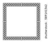 celtic knots vector medieval... | Shutterstock .eps vector #589141562
