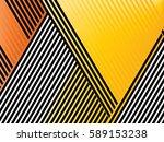 oblique  diagonal lines pattern. | Shutterstock .eps vector #589153238
