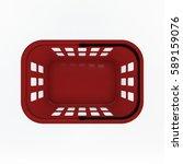 shopping basket. isolated on... | Shutterstock . vector #589159076