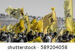 Small photo of Hezbollah's supporters at Liberation Day (Bint Jbeil, 25 May 2014)