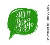 Vector Saint Patrick's Day Han...