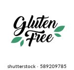 gluten free product food...