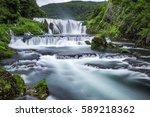 waterfall of strbacki buk on...