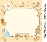 vector drawing of food and...   Shutterstock .eps vector #589242986