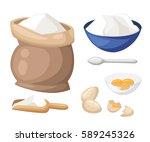 cooking vector illustration.... | Shutterstock .eps vector #589245326