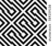 vector seamless pattern.... | Shutterstock .eps vector #589259138