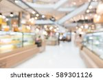 abstract blur shopping mall in... | Shutterstock . vector #589301126
