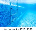 Swimming Pool Stair Under...
