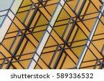 close up of modern office... | Shutterstock . vector #589336532