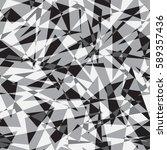 irregular grey monochrome... | Shutterstock .eps vector #589357436