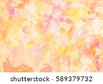 abstract watercolor background... | Shutterstock . vector #589379732