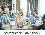 group of creative... | Shutterstock . vector #589419272
