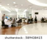 blurred image of workers at... | Shutterstock . vector #589438415