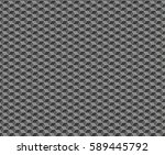 abstract honeycomb cubes... | Shutterstock . vector #589445792