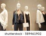 Five Mannequins Standing In...